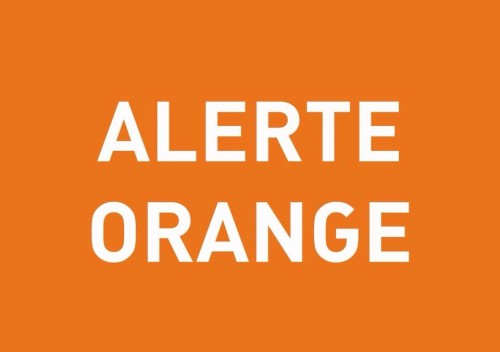Alerte orange orages