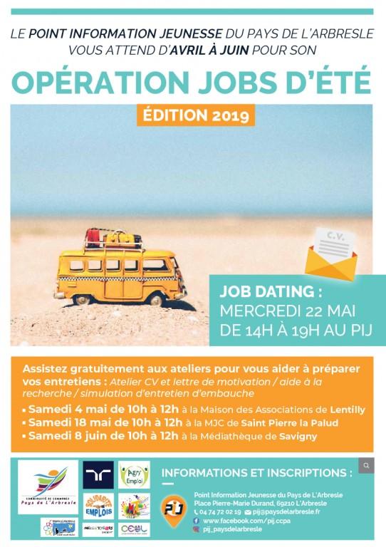 Operation Jobs D Ete Annonces Mairie De L Arbresle
